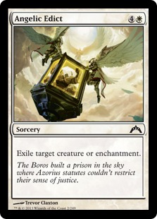 Angelic Edict Magic Card