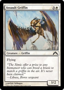 Assault Griffin Magic Card