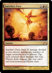 Aurelia's Fury Magic Card