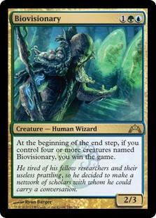 Biovisionary Magic Card