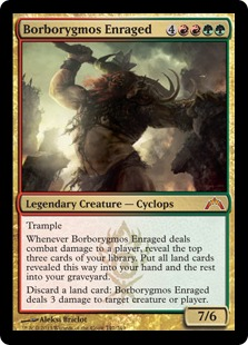 Borborygmos Enraged Magic Card