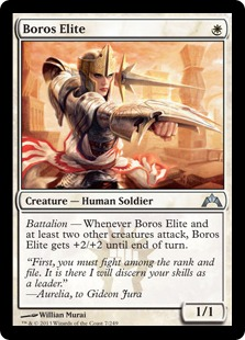 Boros Elite Magic Card