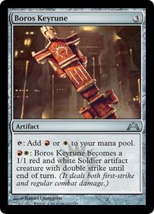 Boros Keyrune Magic Card