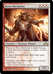 Boros Reckoner Magic Card