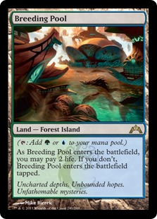 Breeding Pool Magic Card