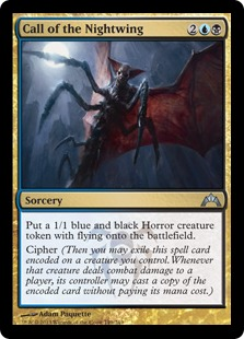 Call of the Nightwing Magic Card