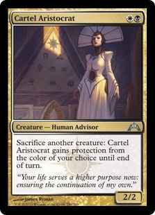 Cartel Aristocrat Magic Card