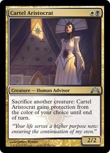 Cartel Aristocrat Magic Card