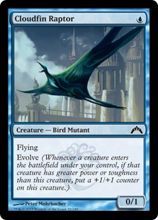 Cloudfin Raptor Magic Card