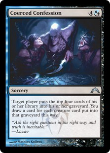 Coerced Confession Magic Card