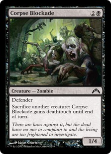 Corpse Blockade Magic Card