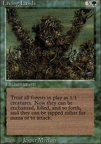 Living Lands Magic Card
