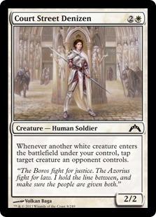 Court Street Denizen Magic Card