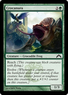 Crocanura Magic Card