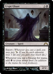 Crypt Ghast Magic Card