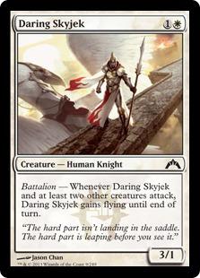 Daring Skyjek Magic Card