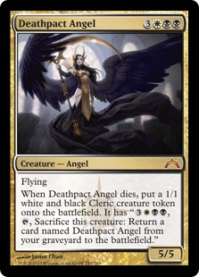 Deathpact Angel Magic Card