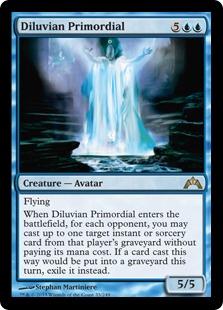 Diluvian Primordial Magic Card
