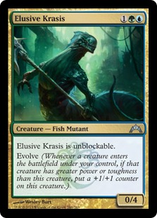 Elusive Krasis Magic Card