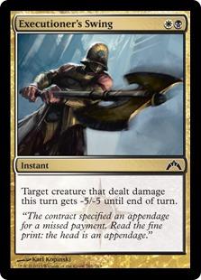 Executioner's Swing Magic Card