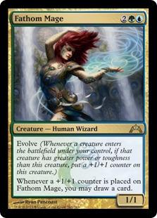 Fathom Mage Magic Card