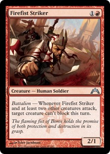 Firefist Striker Magic Card