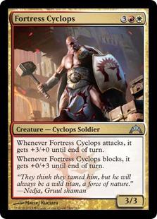 Fortress Cyclops Magic Card