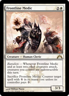 Frontline Medic Magic Card