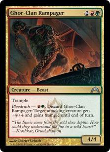 Ghor-Clan Rampager Magic Card