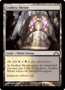 Godless Shrine Magic Card