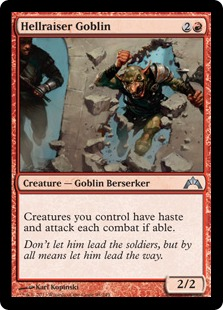 Hellraiser Goblin Magic Card