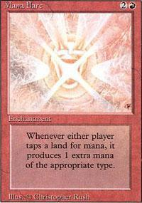 Mana Flare Magic Card