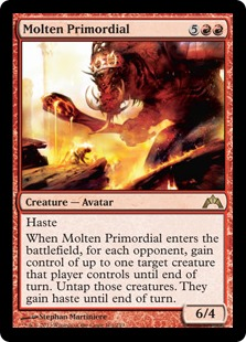 Molten Primordial Magic Card