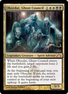Obzedat, Ghost Council Magic Card
