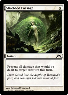 Shielded Passage Magic Card