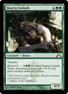 Skarrg Goliath Magic Card