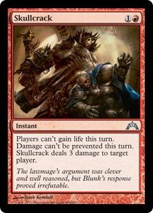Skullcrack Magic Card