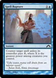 Spell Rupture Magic Card