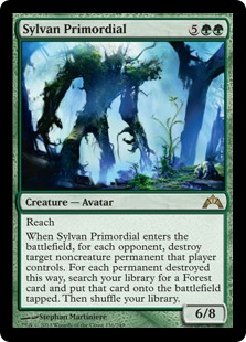 Sylvan Primordial Magic Card