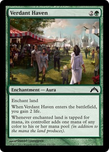 Verdant Haven Magic Card