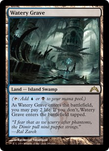 Watery Grave Magic Card