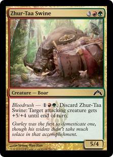 Zhur-Taa Swine Magic Card