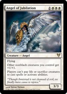 Angel of Jubilation Magic Card