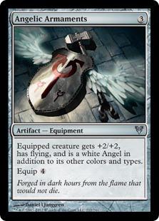 Angelic Armaments Magic Card