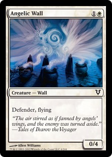 Angelic Wall Magic Card