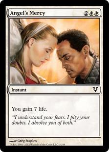 Angel's Mercy Magic Card
