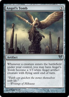 Angel's Tomb Magic Card