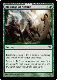Blessings of Nature Magic Card