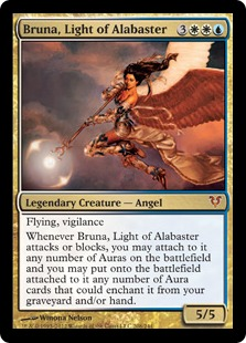Bruna, Light of Alabaster Magic Card