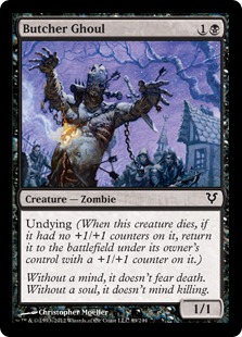 Butcher Ghoul Magic Card